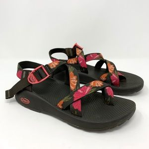 Chaco Floral Athletic Sandals Size 9
